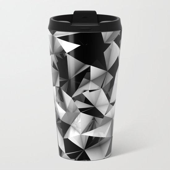 Origami or something.   Metal Travel Mug
