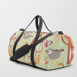 Rain forest animals 004 Duffle Bag