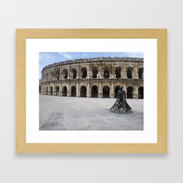 Arena of Nîmes Framed Art Print