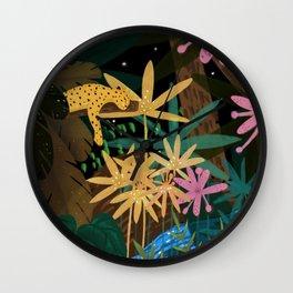 Jungle #2 Wall Clock