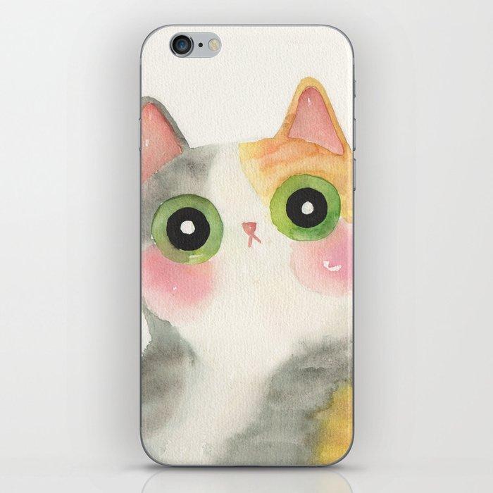 calico cat iPhone Skin