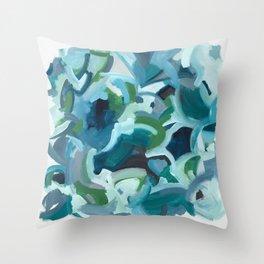 BELL BOTTOM BLUES Throw Pillow