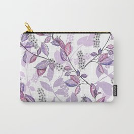 Bird Cherry blossoms Carry-All Pouch