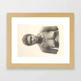 New Guinea and Bismarck  Framed Art Print