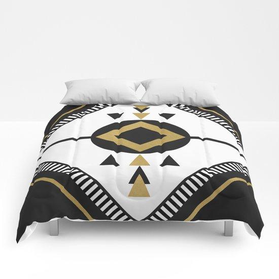 North / Black Comforters