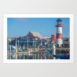 Oceanside Harbor Art Print