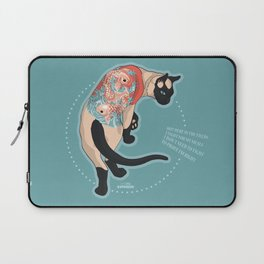 Pets Ink - Siamois Laptop Sleeve