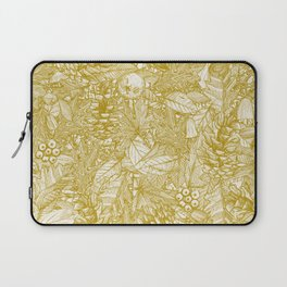 forest floor gold ivory Laptop Sleeve