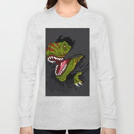 Agressive t rex. Long Sleeve T-shirt
