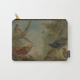Aert Schouman - Pheasants Carry-All Pouch