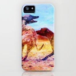 Greyhound Dogs iPhone Case