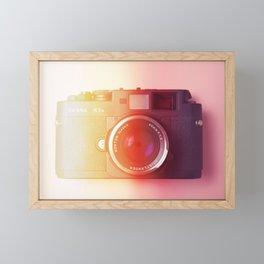 #01_BessaR3a#film#effect Framed Mini Art Print