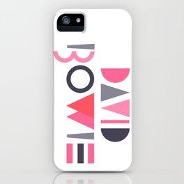 Memphis Bowie iPhone Case
