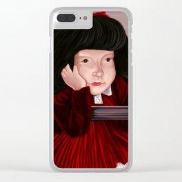 MAFALDA Clear iPhone Case