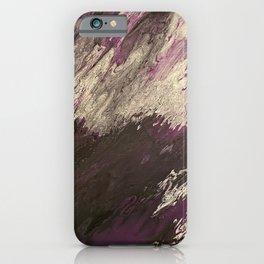 Intrusive Purple iPhone Case