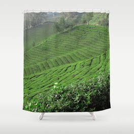 Tea Time 2  Shower Curtain