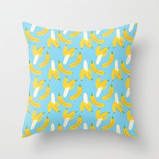 Going Naners Throw Pillow