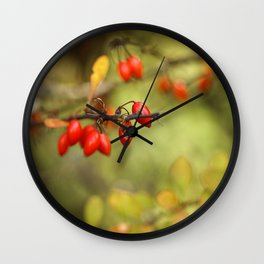 In the Middle of Autumn. Wall Clock