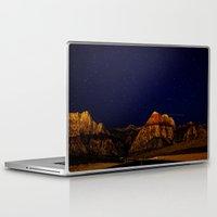 night sky Laptop & iPad Skins featuring night sky by haroulita