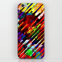 stripe iPhone & iPod Skins featuring stripe by barmalisiRTB