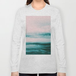 Ocean Romance #1 #abstract #decor #art #society6 Long Sleeve T-shirt