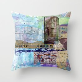 examined by Throw Pillow