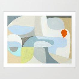 Chroma 45 Art Print