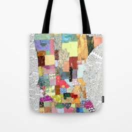Minnesota in Collage Tote Bag