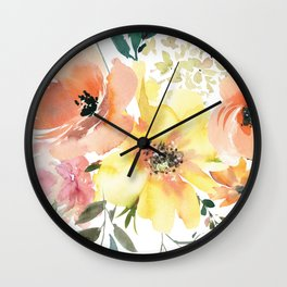 Peachy Keen Vol. 1 Wall Clock