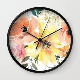 Peachy Keen Vol. 1 Wall Clock