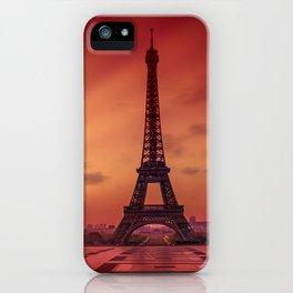 Eiffel Tower at Sunrise iPhone Case