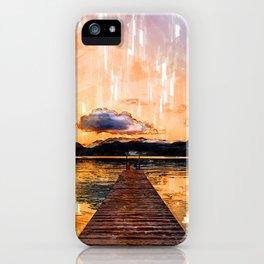 Stunning Jetty Sunset - Jetties Around The World iPhone Case