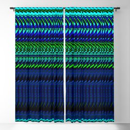Nautical Rag Weave by Chris Sparks Blackout Curtain