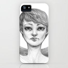 Seeing Angel iPhone Case