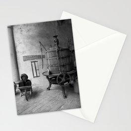 barrel b&w Stationery Cards