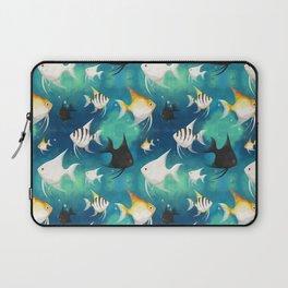 Angelfish Pattern Laptop Sleeve