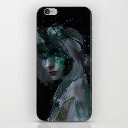 Void Galaxy in Pale Eyes. iPhone Skin