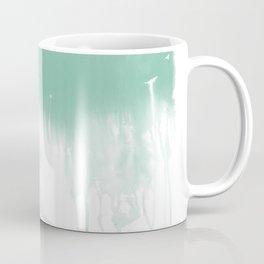 Cloud abstract painting minimal home decor water drip weather office art Coffee Mug