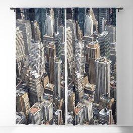 Manhattan Buildings Blackout Curtain