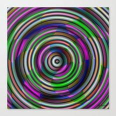 Splendor Button Canvas Print