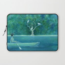 The farther shore Laptop Sleeve