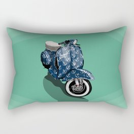 Vespa Vector Sailor Rectangular Pillow