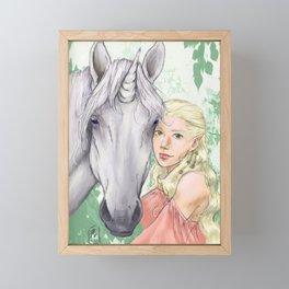 Gentle Framed Mini Art Print