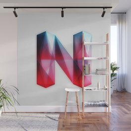 The Letter N Wall Mural