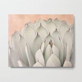 Cacti Blooms Metal Print
