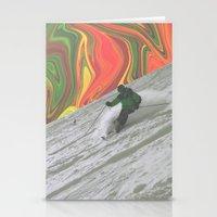 rasta Stationery Cards featuring Rasta Corner by Cale potts Art