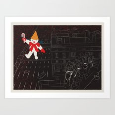 Who Ya Gonna Call? Art Print