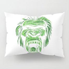 GORILLA KING KONG - Green Pillow Sham
