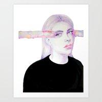 odd future Art Prints featuring Odd by Christina Marie