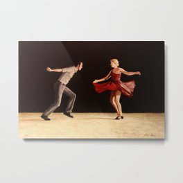 The Free Spin Metal Print